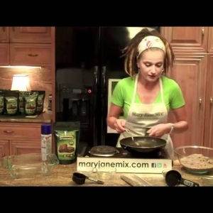 How To  Make Cannabis Brownies - YouTube